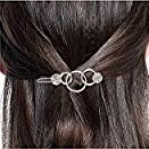 Accessories - NEW Circle Hollow Hair Pin Barrette Clip Gold